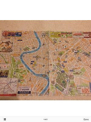 Rome Tourist Map Extremely Detailed