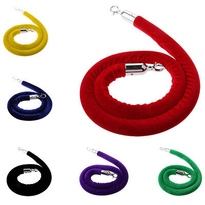 6 Colors Queue Barrier Stand Posts Rope Divider Crowd Control Stanchion 1.5m