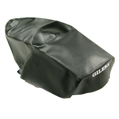 Seat Cover Seat Cover Xtreme Black Carbon Look For GILERA RUNNER 99-01