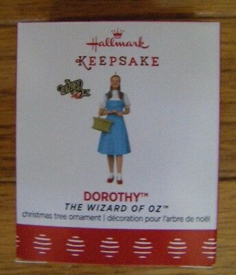 NEW Hallmark 2017 Dorothy The Wizard Of Oz Limited Edition mini ornament NIB