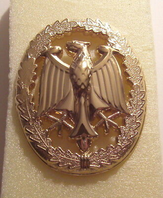 German Armed Forces Badge for Military Proficiency Grade III Gold Tone