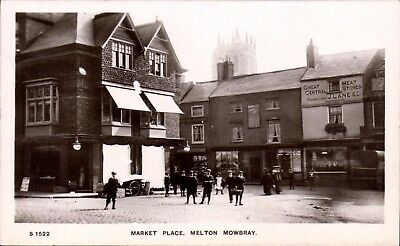 Melton Mowbray. Market Place # S 1522 by WHS Kingsway.