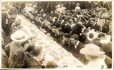 Hinckley. WW1 Peace Celebrations July 1919 # 3.