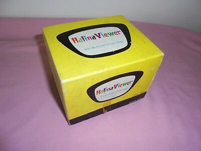 Retro Halina Colour Slide Viewer No 531 With Two Polished Optical Lenses Boxed