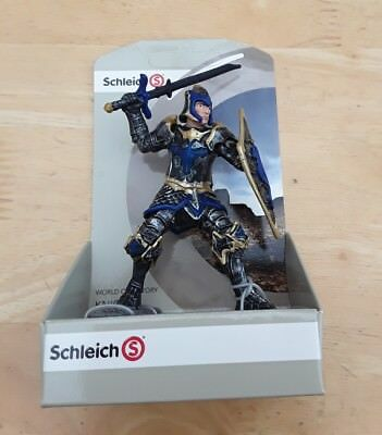 "Schleich ""World Of History Knights"" Dragon Knight with sword, 72028, new in box."