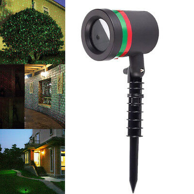 Outdoor Moving Laser Projector Lamp Waterproof LED Stage Light for Christmas NEW