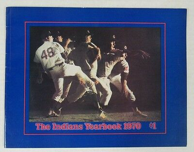 1970 Cleveland Indians Yearbook Nice Shape F855