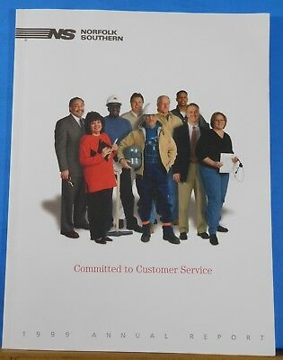 Norfolk Southern 1999 Annual Report Committed to Customer Service
