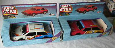2x Road Star Rally Metall & Kunststoff Automodelle DDR in Verpackung