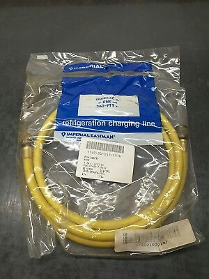 """New Imperial Refrigerant Vacuum Hose 60"""" Yellow 360-FTY. FREE SHIPPING"""