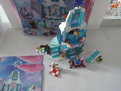 Lego Disney 41062 Elsa's Sparkling Ice Castle from Frozen inc box & instructions