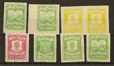 GB Delway Company Stamps