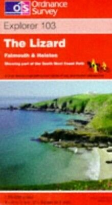 The Lizard, Falmouth and Helston (Explor... by Ordnance Survey Sheet map, folded