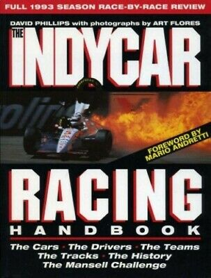 Indycar Handbook by Phillips, David Paperback Book The Cheap Fast Free Post