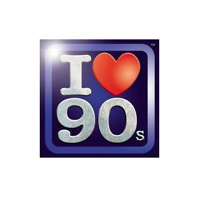 Various Artists - I Love the 90's - Various Artists CD 9AVG The Cheap Fast Free