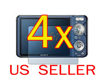 4x Sony Camera CyberShot DSC- W290 W330 LCD Screen Protector Guard