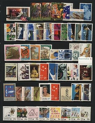 Australia Collection Modern Commemorative Stamps MM + UM