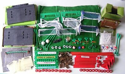 Subbuteo, Table soccer flick football Accessories mixed lot, Mostly 1960/70/80's
