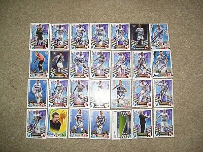 Queens Park Rangers 25 Handsigned Football Trading Cards Plus 3 Unsigned