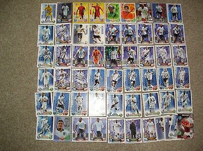 Tottenham Hotspur 46 Handsigned Football Trading Cards Plus 10 Unsigned