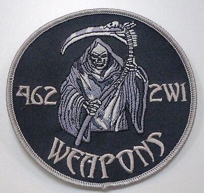 Usaf Military Patch 462 2Wi Weapons Grim Reaper