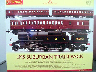 hornby r3397 the lms suburban train pack [limited edition] dcc ready new