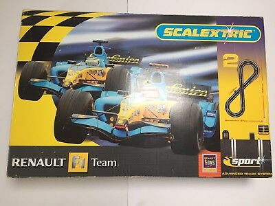 Scalextric Sport Renault F1 Team Advanced Track System Boxed