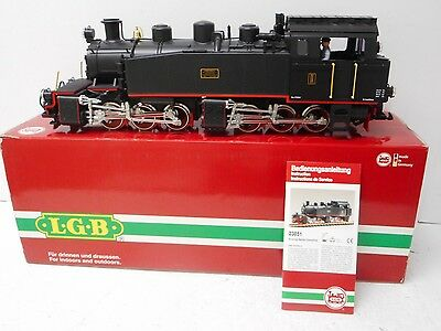 LGB 23851 Black Mallet 0-6-6-0 Locomotive Smoke & Lights Excellent  G Scale RARE