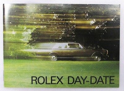"Rolex Brochure ""rolex Day-Date"" 7.1985, English, Vintage Mint Condition"