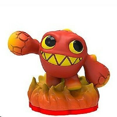 Skylanders Trap Team  * Weeruptor * With Stat Card * Used * 10 Day Auction *