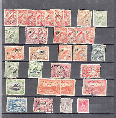 New Guinea Victoria-G6Th  Mint/ Used Values/sets On Stockpage