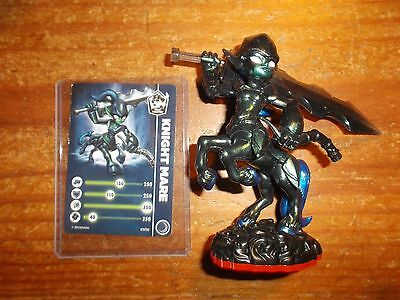 Skylanders Trap Team Master  * Knight Mare * With Stat Card/code * Used * 10 Day