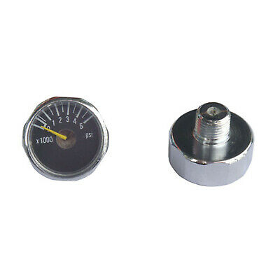 New 2x 5000 PSI Paintball Micro Gauge