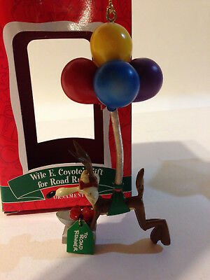 Wile E. Coyote Christmas Ornament Gift for Road Runner 2000