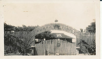 1940 ALOHA TEMPLE entrance    Hawaii Photo