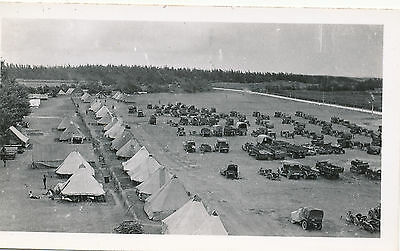 1938 Schofiled Barracks, camp, trucks, cassions, tractors, etc  Hawaii Photo