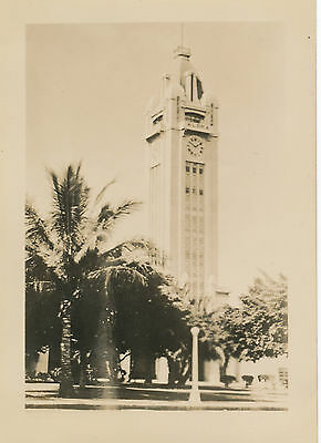 1937 Aloha Tower from street Hawaii photo