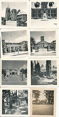 WWII 1942 Honolulu & Oahu Hawaii 8 small Photos