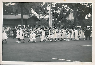 1945 Aloha Week Parade, Hawaiian Women,  Hawaii Photo