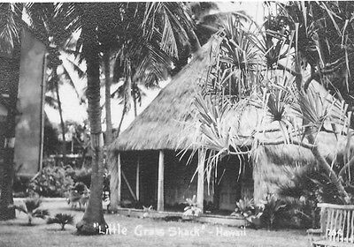1940 Little Grass Shack, small Hawaii Photo