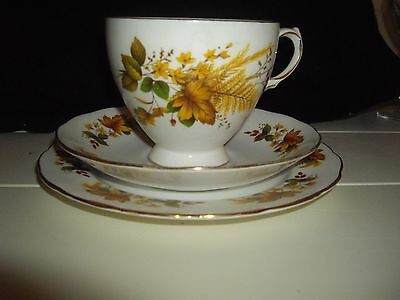 Lovely Queen Anne China Trio