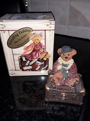 Travelling Teddies - The Jet Setter - Regency Fine Arts
