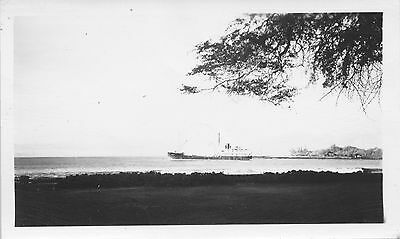 1930s ship & boat, Hawaii 2 Photos