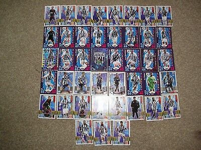 West Bromwich Albion 43 Handsigned Football Trading Cards