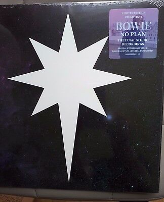 No Plan 12'' Clear  Etched Vinyl by David Bowie... new & sealed