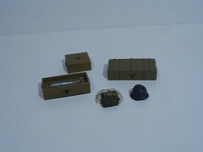 1/16 Scale R/c Tank Accessories/stowage 5 Items (Resin)
