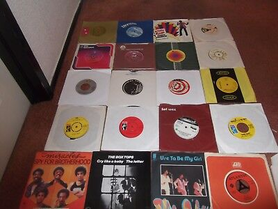 "A Job Lot Of 20 Northern Soul / Soul 7"" .pickett,flaming Ember,staple Singers."