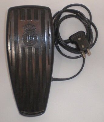 HUSQVARNA ~ SEWING MACHINE FOOT CONTROL PEDAL ~ TYPE FR-400 ~ Untested