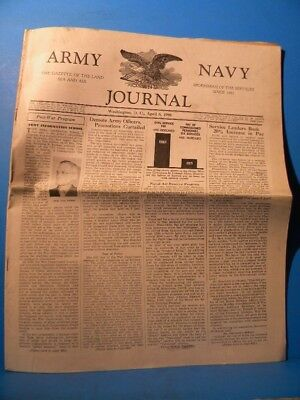 Army & Navy Journal 1946 April 6 1946 Vol 83 No 32