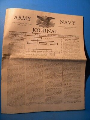 Army & Navy Journal 1946 March 16 1946 Vol 83 No 29